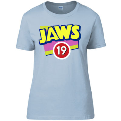 Jaws 19 - Women's Fitted T-Shirt Thumbnail