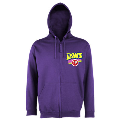 Jaws 19 - Unisex Zipped Hoodie Thumbnail