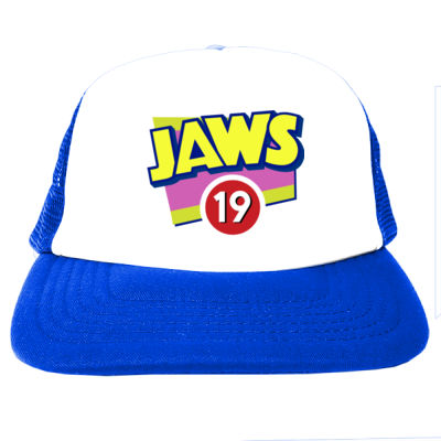 Jaws 19 - Foam Fronted Trucker Hat Thumbnail